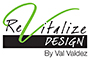 Revitalize Design Logo