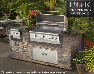 POK Outdoor Kitchen Giveaway