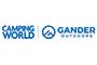 Gander and Camping World logo