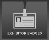 Exhibitor Badge Button