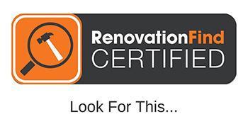 RenovationFind Certified logo