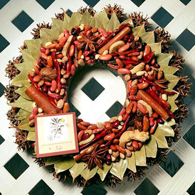 Unique Spice Wreaths