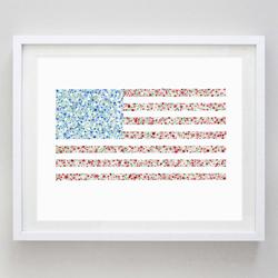 American Flag Water