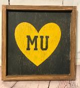 MU Heart - Yellow Heart