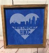 There's No Place Like KC - Blue Heart