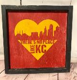 There's No Place Like KC - Yellow Heart
