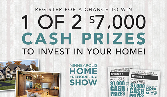 Minneapolis Home + Remodeling On-Site Contest Banner