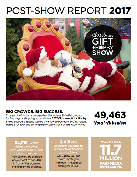 christmas gift hobby show show guide cover - Christmas Gift And Hobby Show