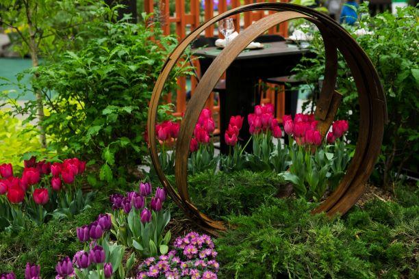 Outdoor Floral Display
