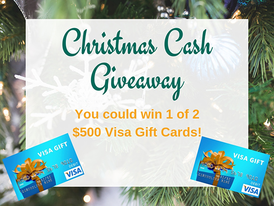 Christmas Cash Giveaway Promotion