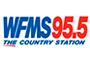 WFMS 95.5 logo