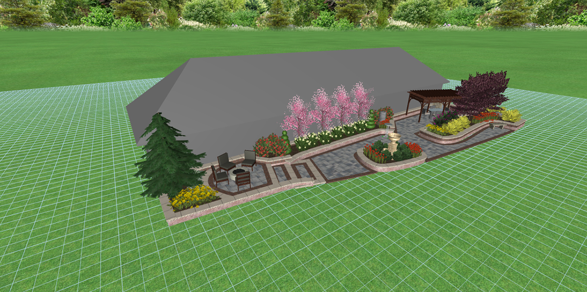 All Pro Landscaping 4326 Churchman Court Indianapolis, IN 46237 - Feature Gardens At The Indiana Flower + Patio Show
