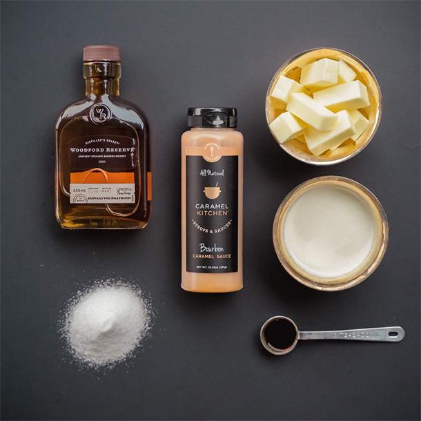 Caramel Kitchen Product Flat Lay
