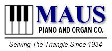 Maus Piano Logo