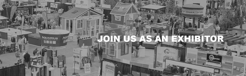 Join us as an exhibitior