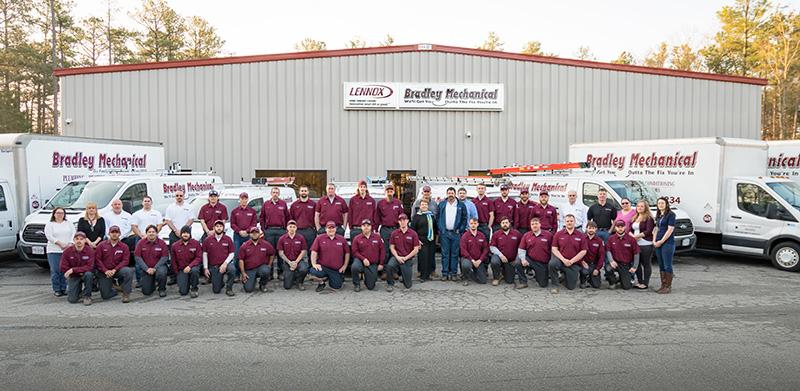Bradley Mechanical Team