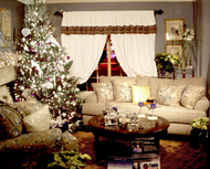 Room with holiday theme