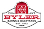 Byler Barns & Backyards logo