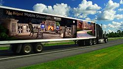 Belgard tractor trailer