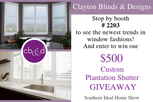 Clayton Blinds Giveaway Info