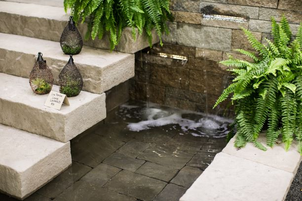 Backyard Getaways Image with Landscaping and Water