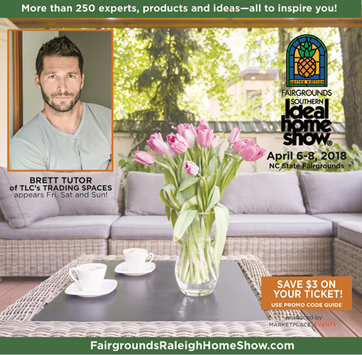 Show Guide cover for the Fairgrounds Southern Ideal Home Show