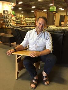 Avenue magazine's Senior Editor Ricky Zayshley