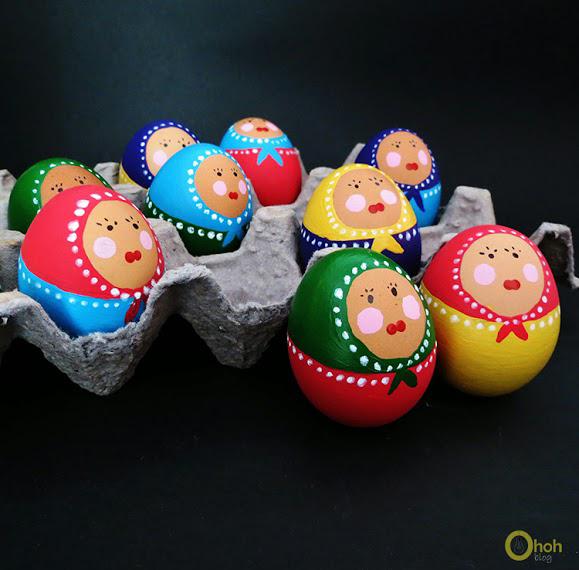 Babouchka Eggs from OhOh Blog
