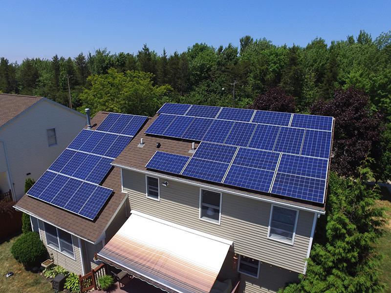 Buffalo Solar Solutions Roof