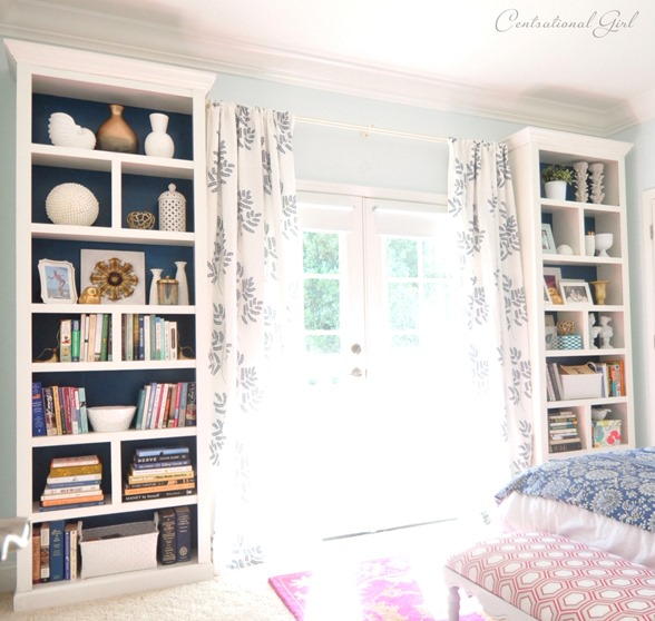 Centsational Girl Bookshelves