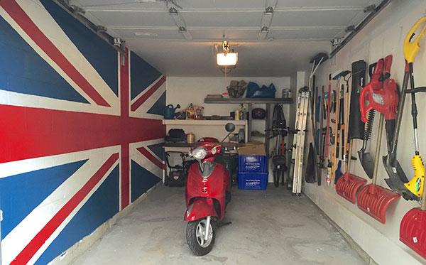 Finished Garage