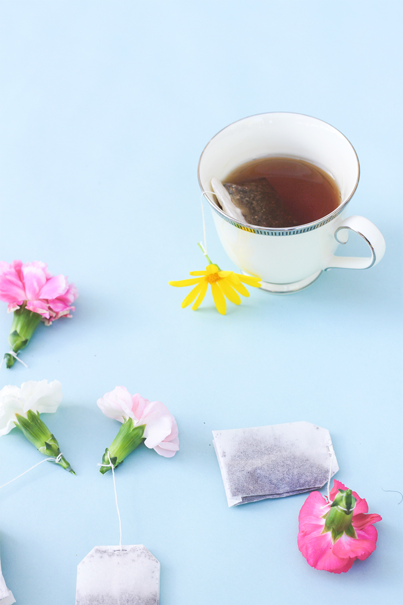 Flower Teabags from Kipi