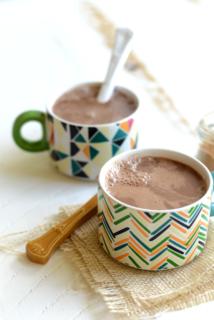 Chai Vegan Hot Chocolate