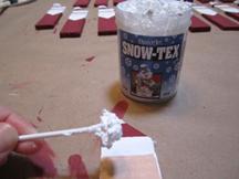 Applying Snow Texture