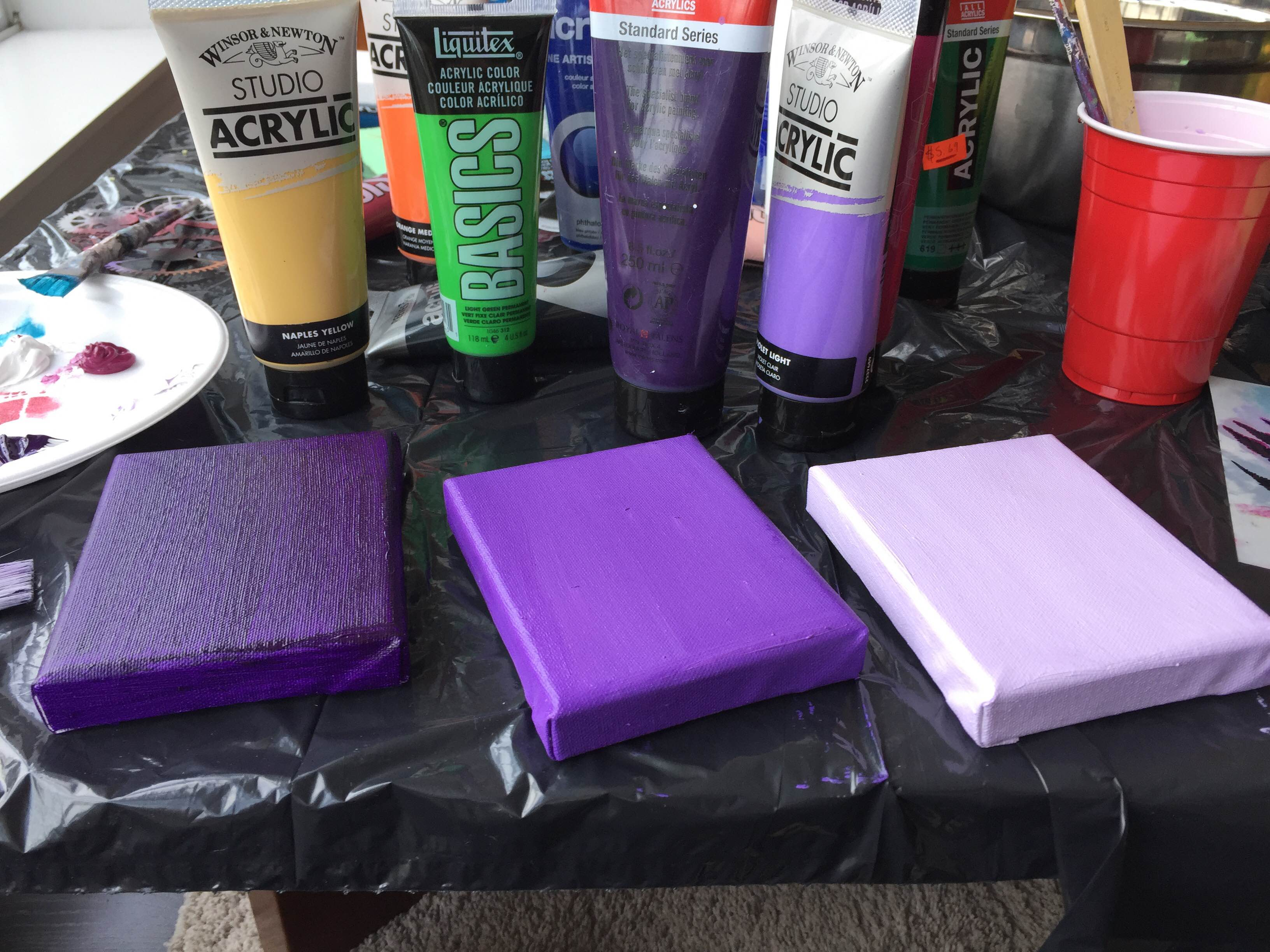 Ombre Canvases