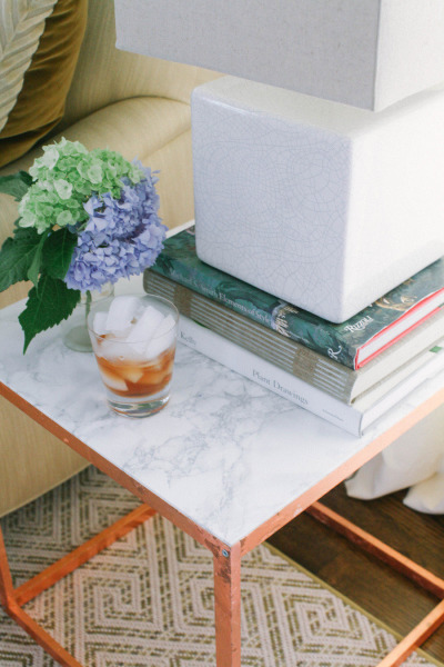 Style Me Pretty Side Table