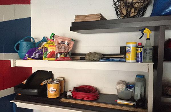 Upcycled Shelf