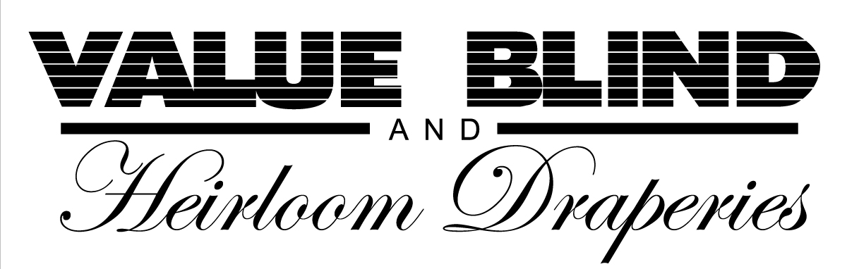 Value Blind and Heirloom Draperies Logo