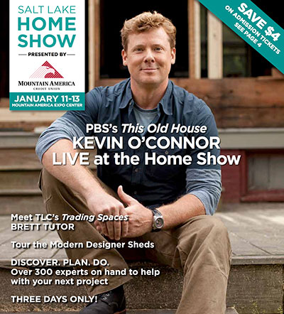 show guide cover for the Salt Lake Home Show