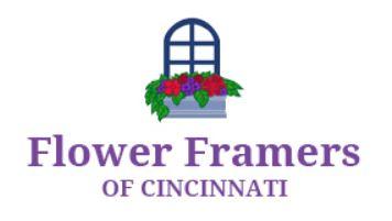 flower framers of cincinnati logo