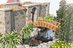 Semco Outdoor 50th Anniversary Garden rendering