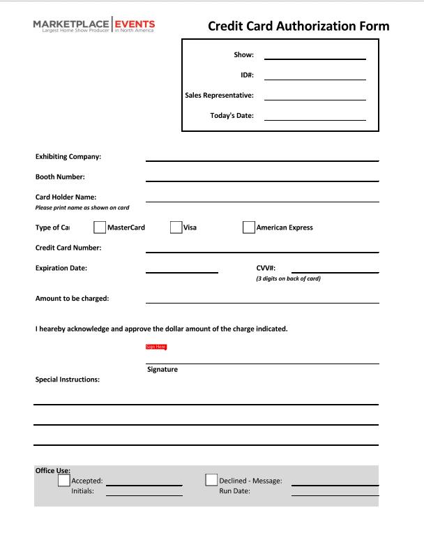 CC form