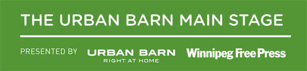 Urban Barn Stage Schedule Banner